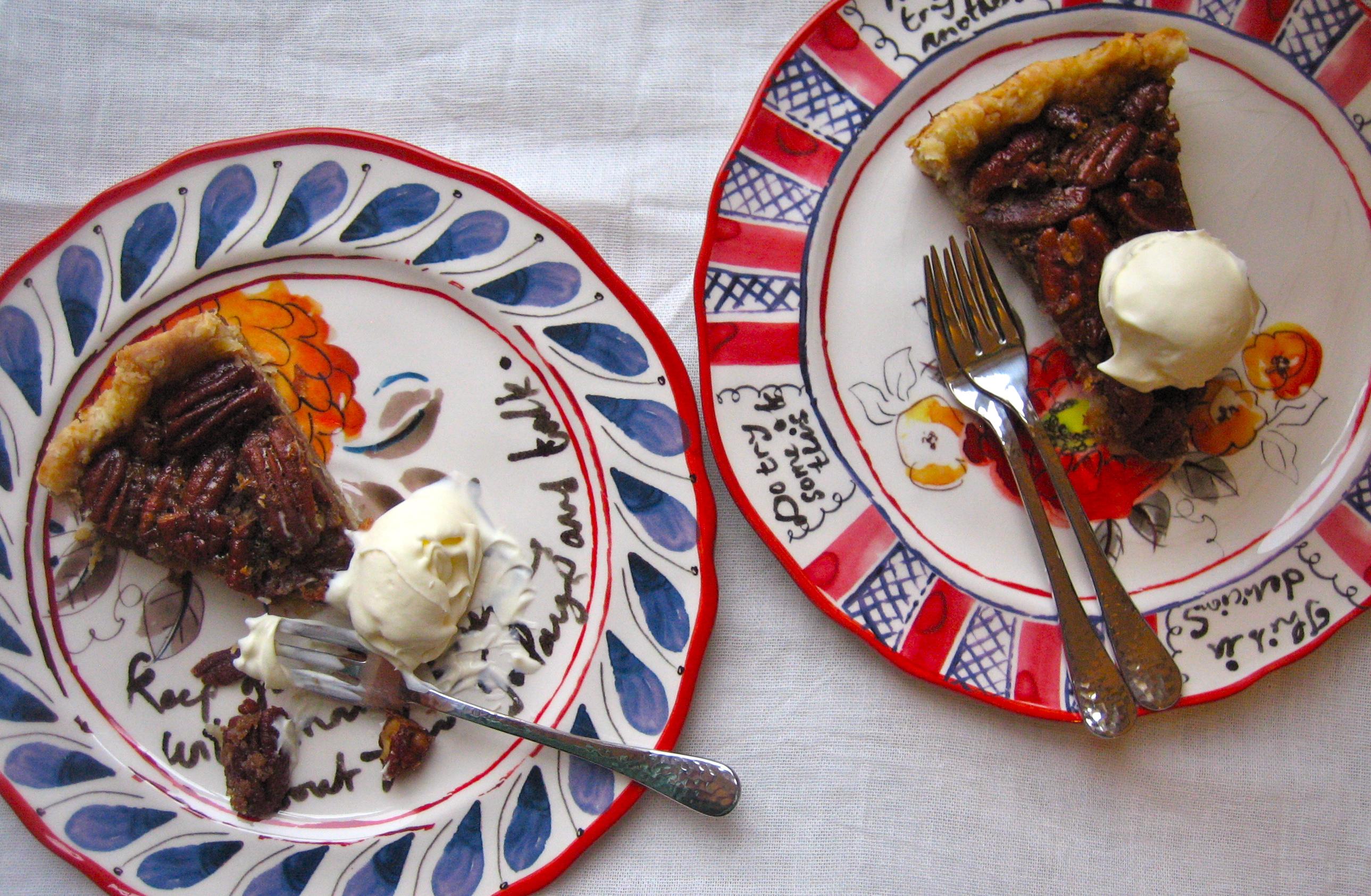Maple Pecan Pie with Star Anise | Charlotte au Chocolat